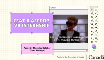 CFAT x AFCOOP VR INTERNSHIP