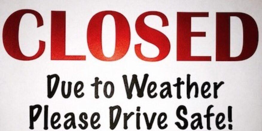 5dc26e211abfd3fa257b5714 closed due to weather